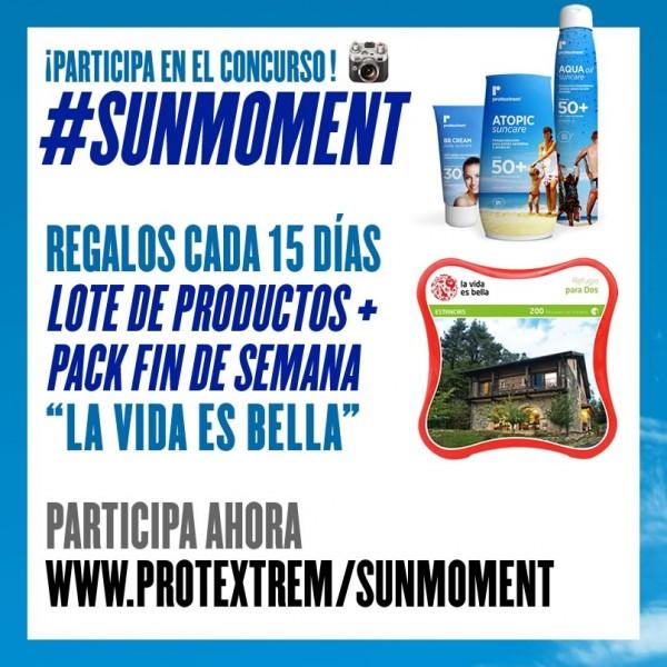 Sube tu foto, etiquétala con #SUNMOMENT y viralízala. La más votada siempre tiene premio.