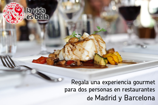 Restaurantes de Madrid y Barcelona