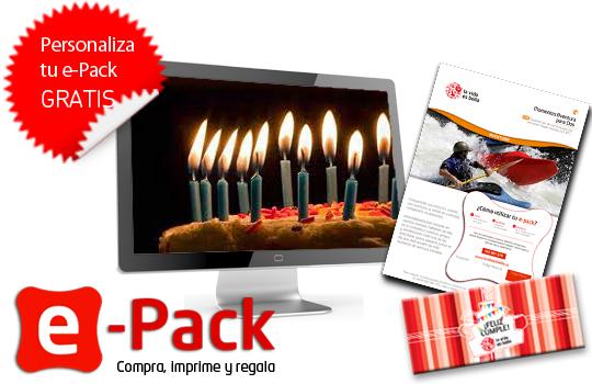regala e-pack por tu cumpleaños