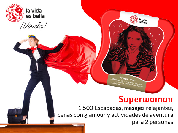 regalo superwoman